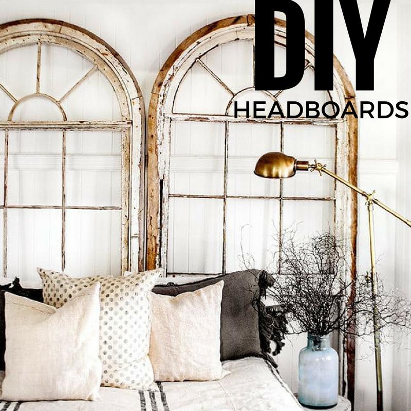 14 Dreamy Diy Headboard Ideas: 17 DIY Headboard Weekend Projects